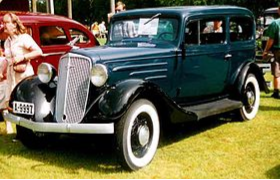 La Chevrolet 1934 (Standard Coach)
